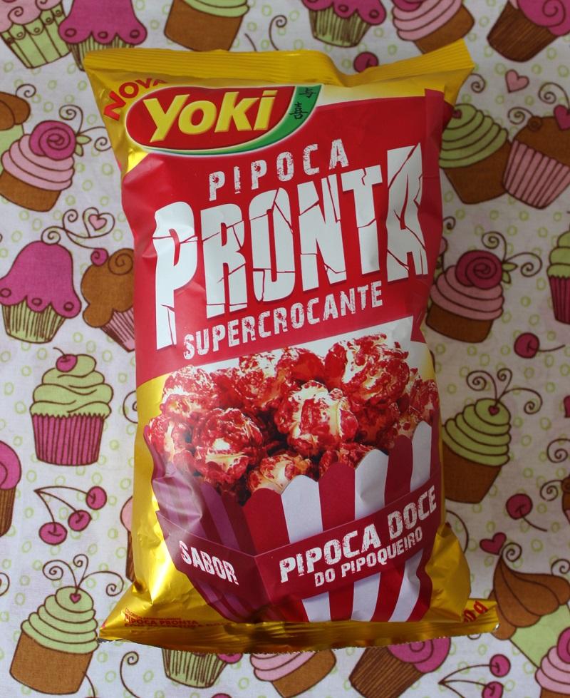 pipoca_crocante Pipoca Pronta Super Crocante: Pipoca Doce do Pipoqueiro - Yoki