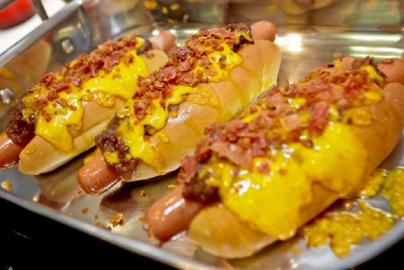 receita de cachorro quente com cheddar