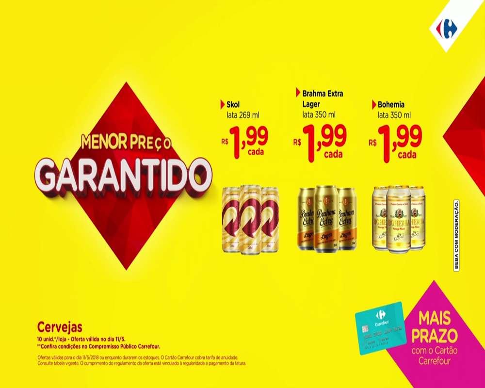 Carrefour – ofertas anunciadas na TV para 11/05/2018