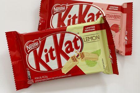 Os novos Kit Kats sabores morango e limão: saiba tudo sobre eles