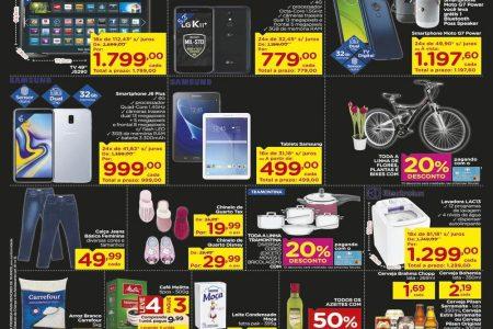 Carrefour dia C: ofertas especiais para curtir sua mãe válidas até 10/05