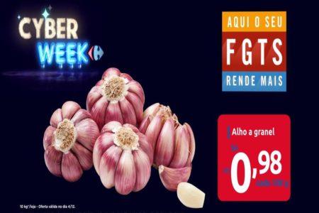 Cyber Week Carrefour na TV para esta quarta-feira 04 de Dezembro
