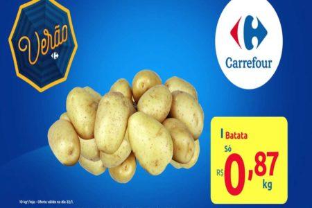 Feira Carrefour na TV ofertas para esta quarta-feira 22/01: confira