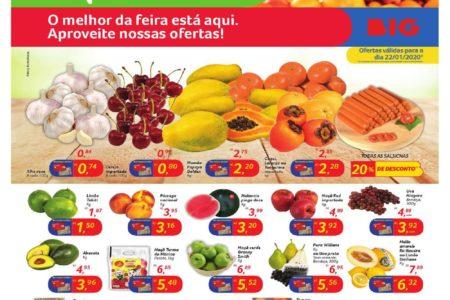 Novo Folheto BIG Feira o melhor da feira está aqui – ofertas para 22/01