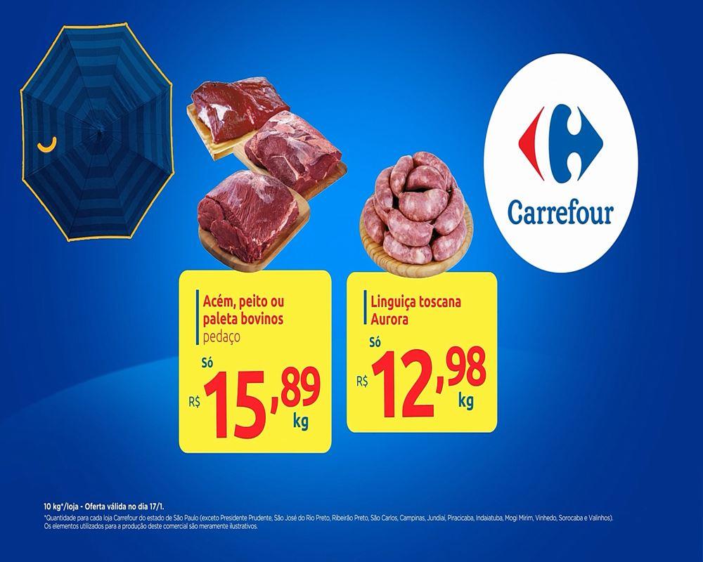 carrefour-Ofertas-TV6-1 Ofertas Anunciadas na TV Carrefour Verão para 17/01: confira
