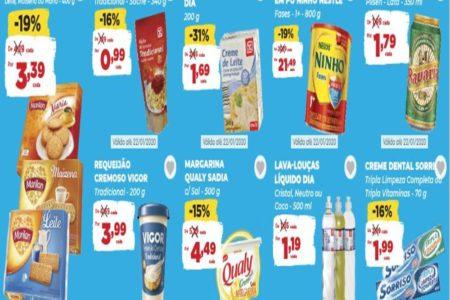 Dia Supermercado Ofertas Especiais até 22 de Janeiro