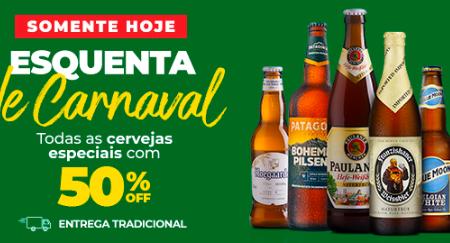 Cervejas com 50% de desconto em grandes supermercados de SP