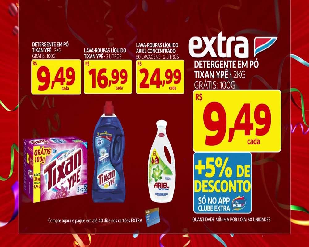EXTRA-CARNAVAL-OFERTAS-12 Extrafolia ofertas da TV para este sábado 15/02 confira aqui