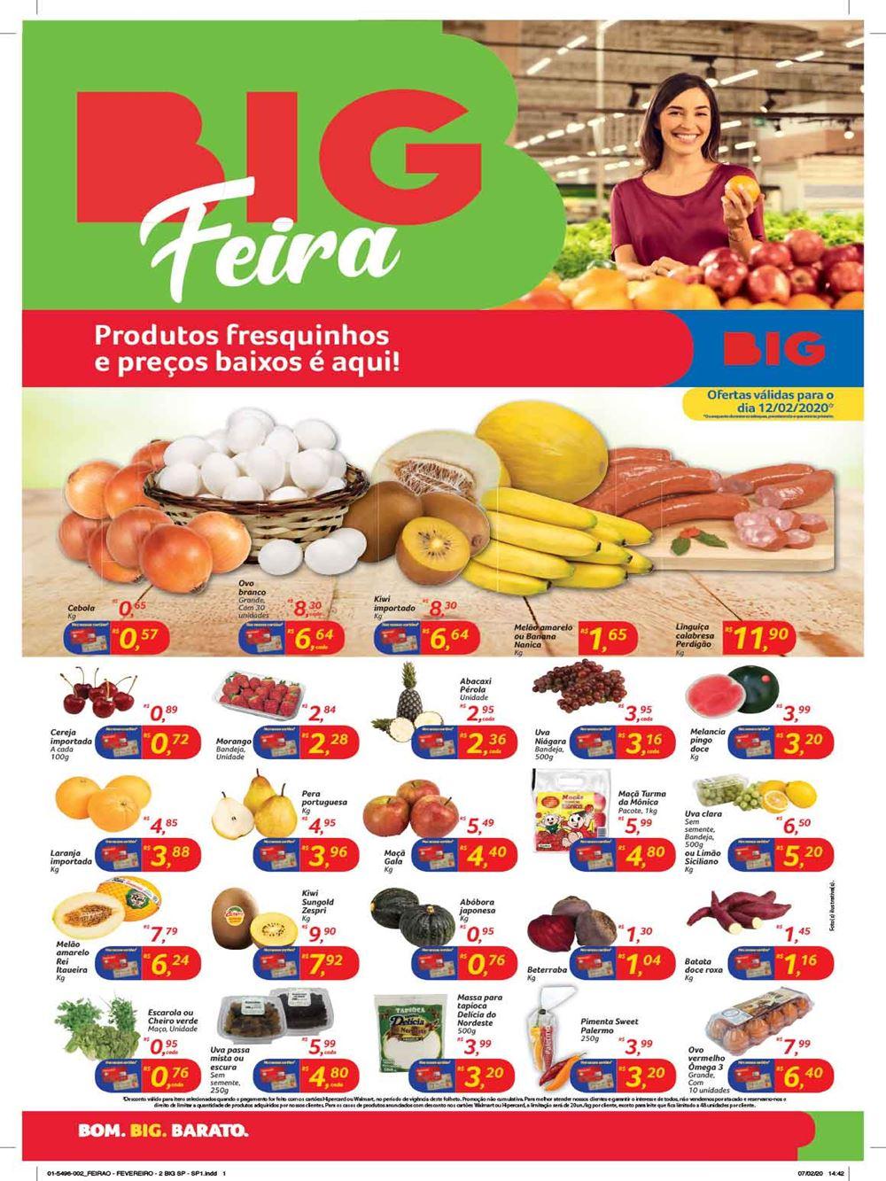 big-Ofertas-tABLOIDE1-4 Novo Folheto BIG Feira preço baixo é aqui- ofertas para 12/02