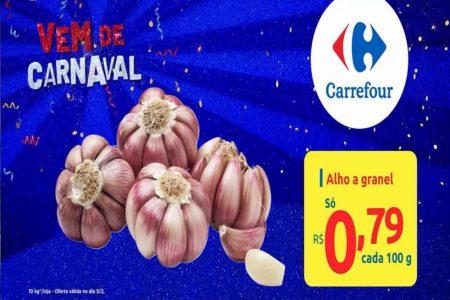 Feira Carrefour na TV Carnaval ofertas para esta quarta-feira 05/02