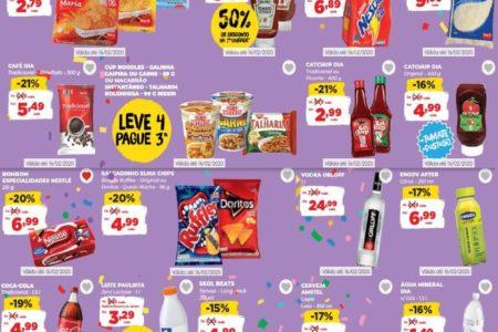 Novo Folheto Dia Supermercado Ofertas até 16 de Fevereiro: confira