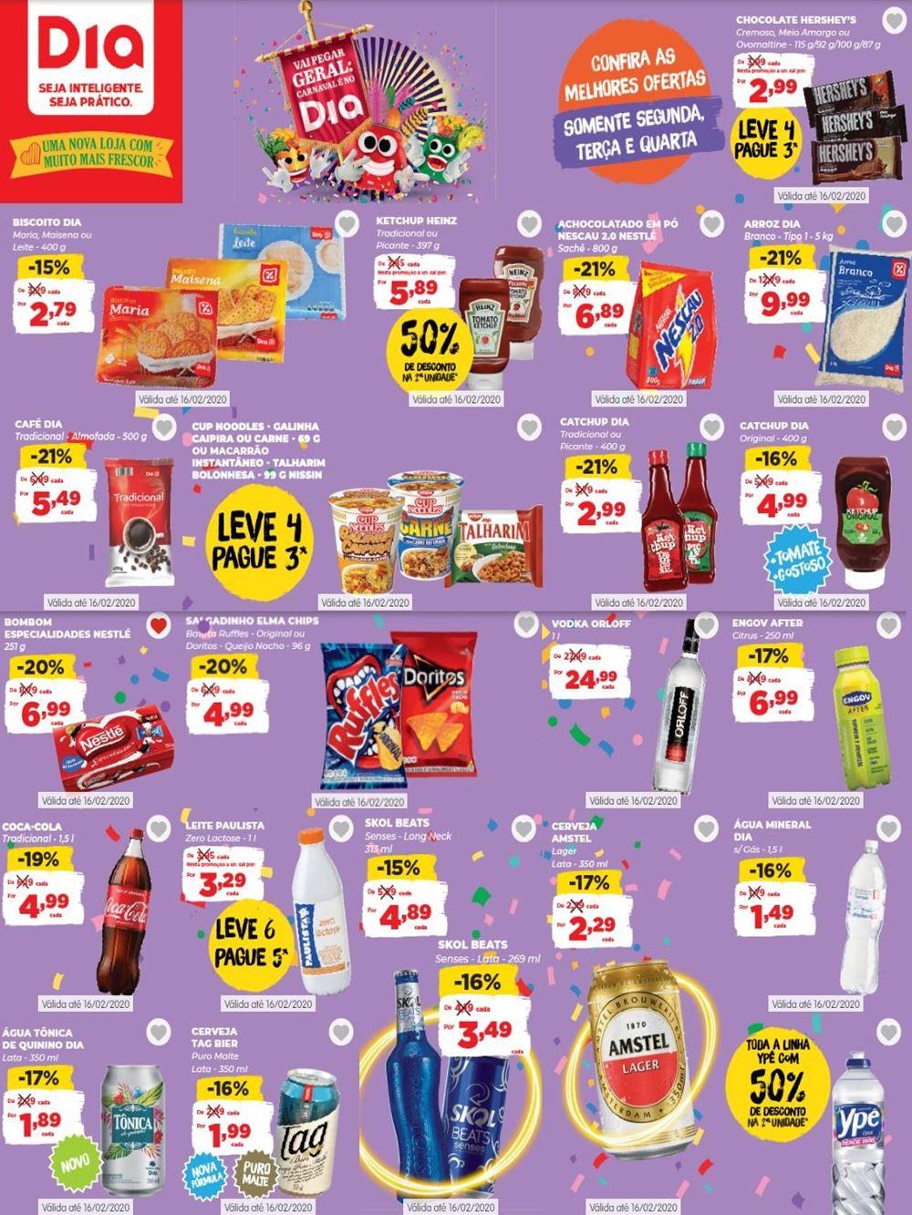 dia-Ofertas-tabloide1-2 Novo Folheto Dia Supermercado Ofertas até 16 de Fevereiro: confira