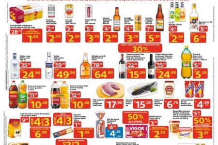 Folheto Alerta Vermelho Extra Hiper com ofertas só hoje 08/02