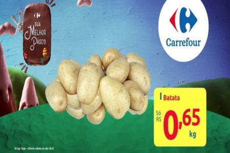 Feira Carrefour na TV hoje para esta quarta-feira 18 de Março