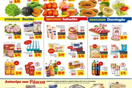 Barbosa Supermercados Páscoa tudo de bom até 02 de Abril
