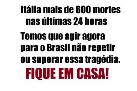 Servidor alerta sobre covid-19 – Se não mudarmos o rumo das coisas vai haver muitas mortes no Brasil