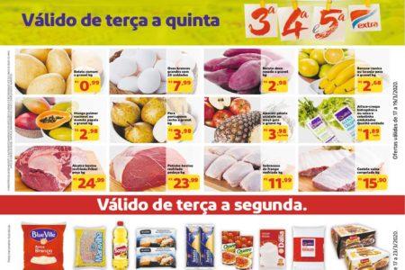 Novo Folheto Mercado Extra até 23 de Março: confira
