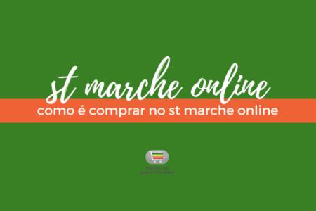 Como é fazer compras no St Marche online: Resenha