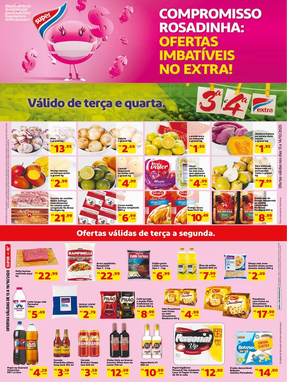 Novo Folheto Extra Super hoje RJ