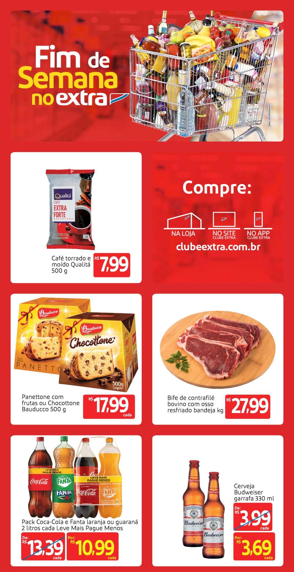 extra-ofertas-descontos-hoje1-1 Folheto Final de Semana Extra Hiper ofertas hoje até 22/11