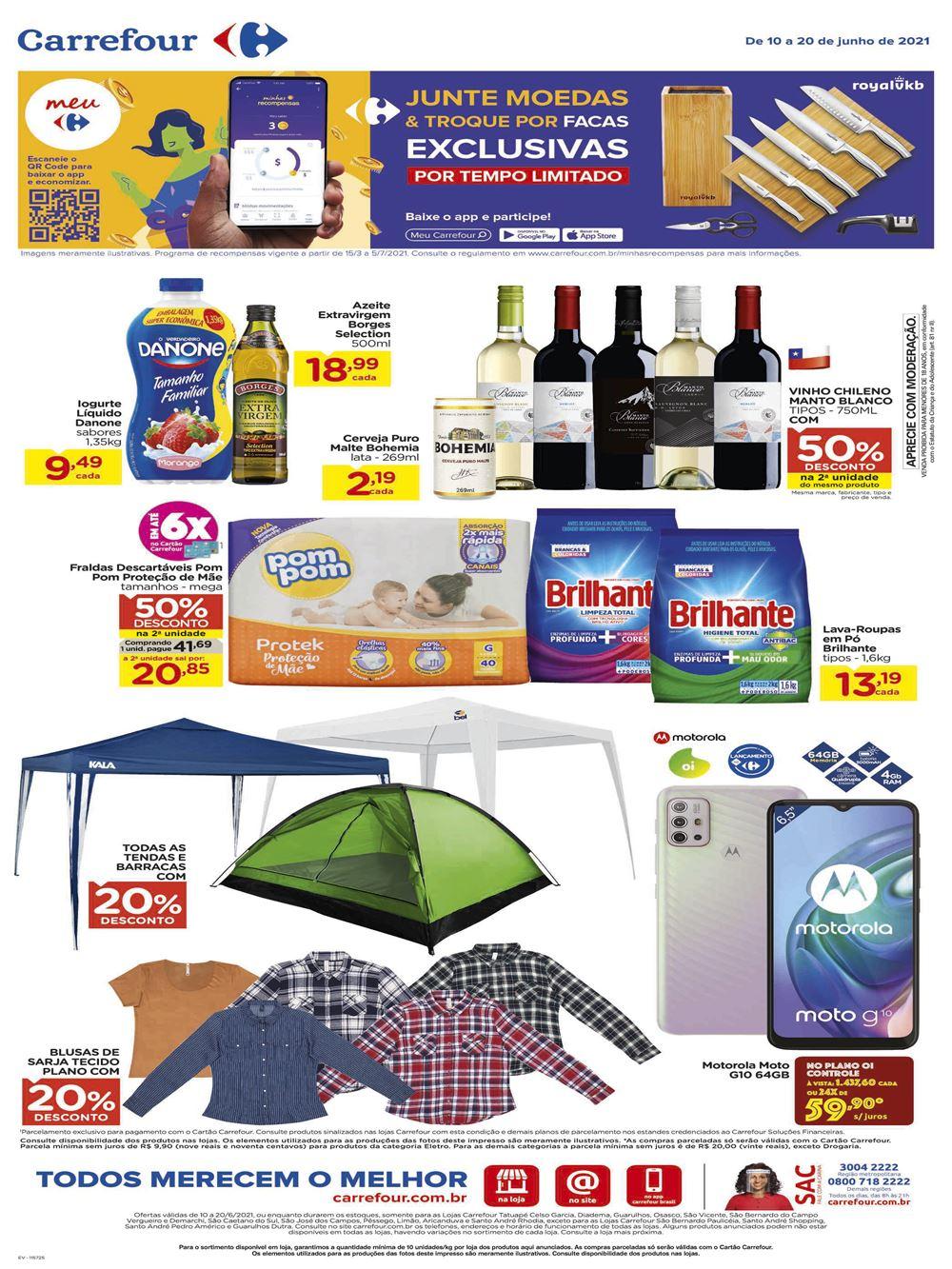 carrefour-ofertas-descontos-hoje1-14 Folheto Meu Carrefour com mais de 100 ofertas até 20 de Junho: confira