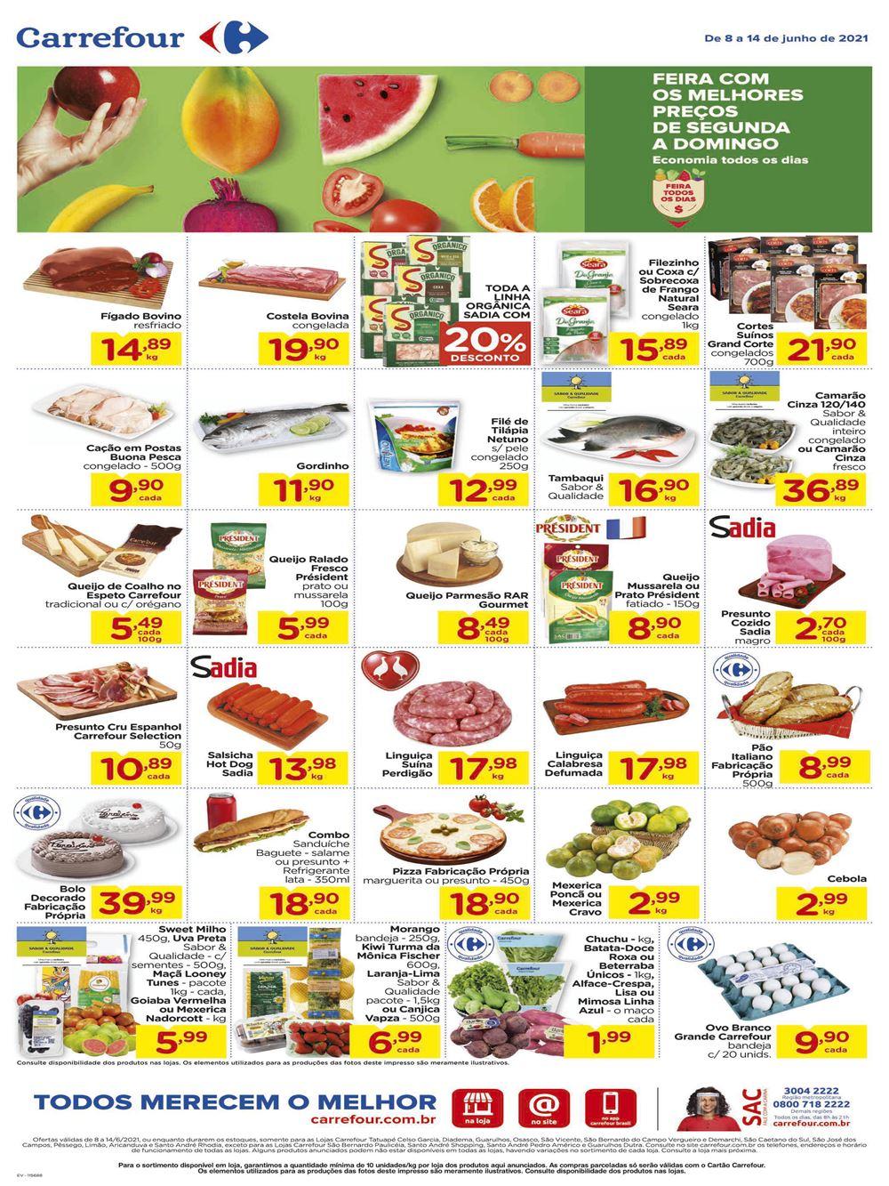 carrefour-ofertas-descontos-hoje20-5 Folheto Feira Carrefour hoje ofertas até 14 de Junho: confira