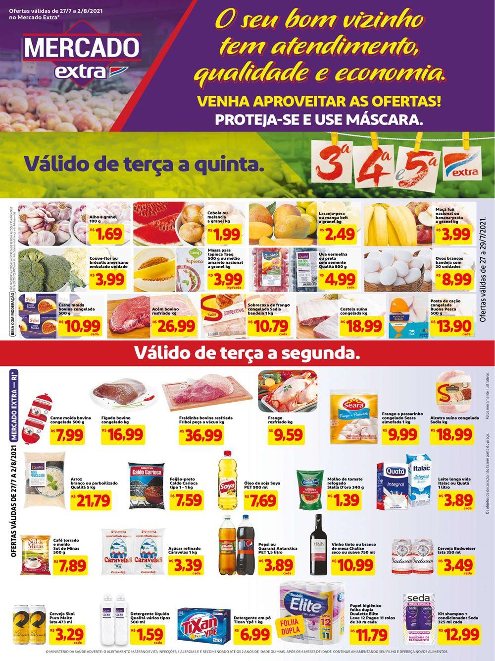 extra-ofertas-descontos-hoje1-4 Novo Folheto Mercado Extra ofertas até 02 de Agosto: confira