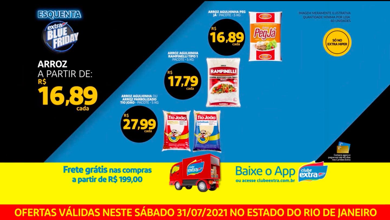 extra-ofertas-tv-RJ Esquenta Extra Blue Friday ofertas da TV para este sábado 31/07/2021