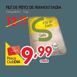 Oferta de File de Peito no Dia Supermercado