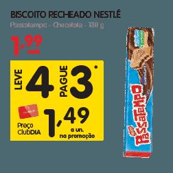 Oferta de Biscoito Recheado no Dia Supermercado