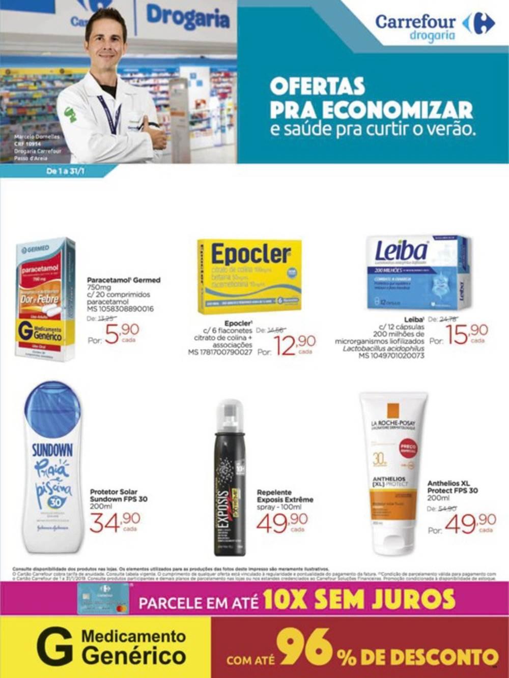 Ofertas-Drogaria1 Carrefour para 18/01