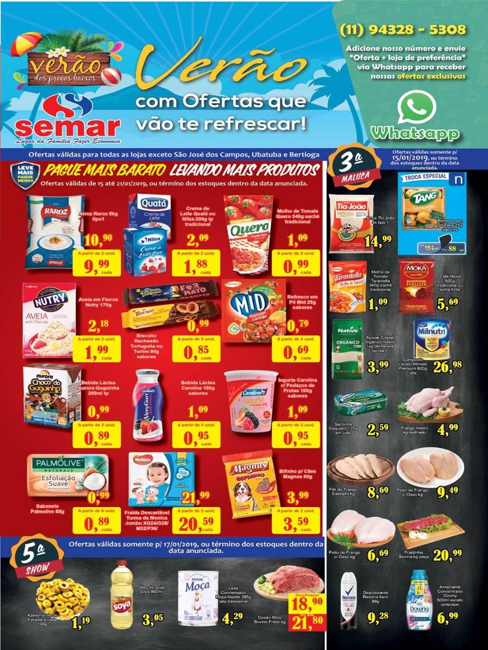 Ofertas-semar1-2 Supermercados - Saldão