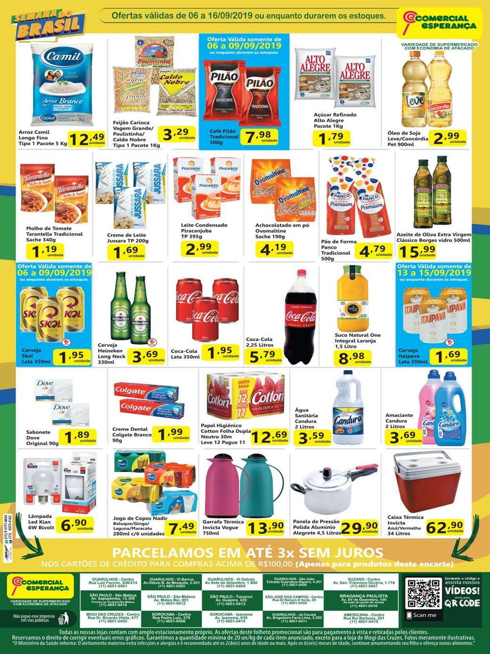 Ofertas-esperanca2 Esperanca até 16/09