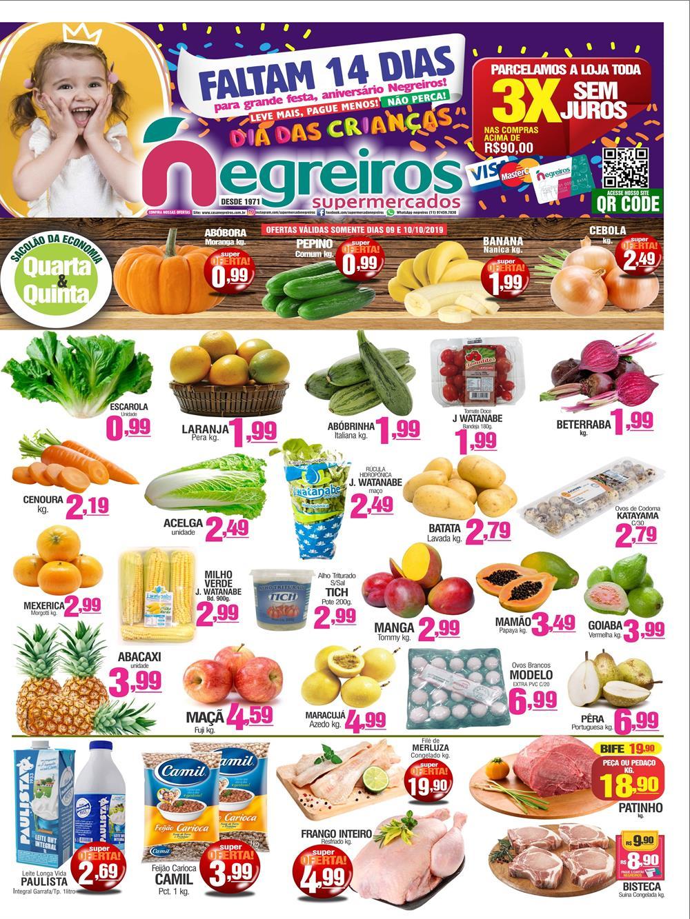 Negreiros-Ofertas-Tabloide1 Ofertas de supermercados - Black Friday 2019