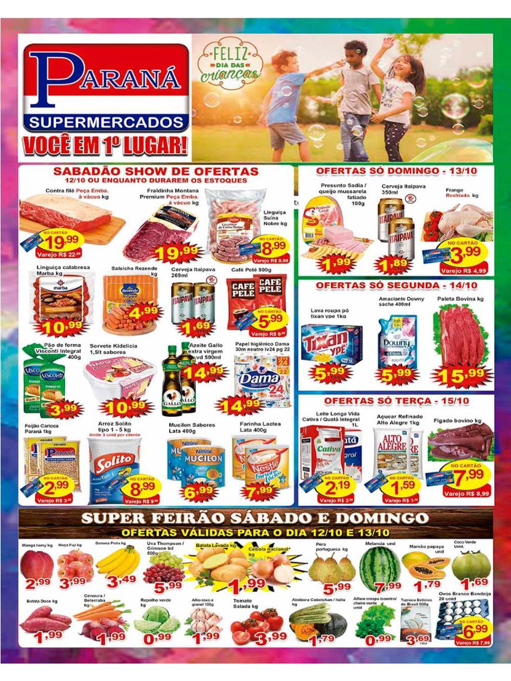 PARANA-Ofertas-Tabloide1 Ofertas de supermercados - Black Friday 2019