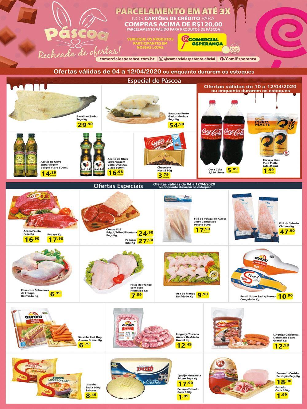 esperanca-ofertas-descontos-hoje1 Ofertas de supermercados - Páscoa