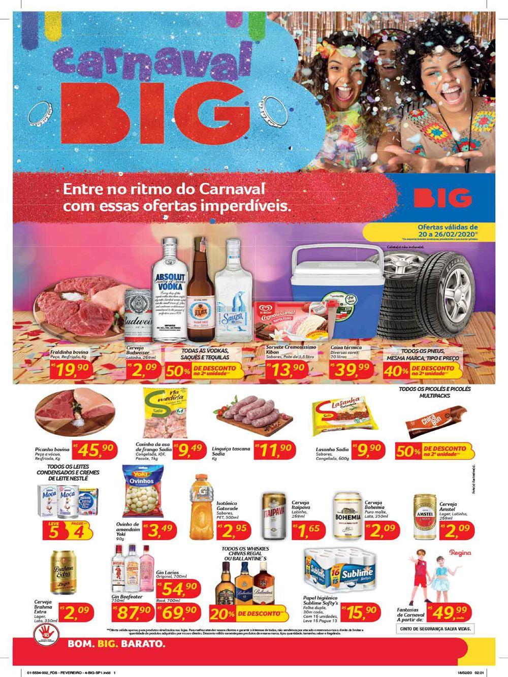big-Ofertas-carnaval1 Ofertas de supermercados - Hoje