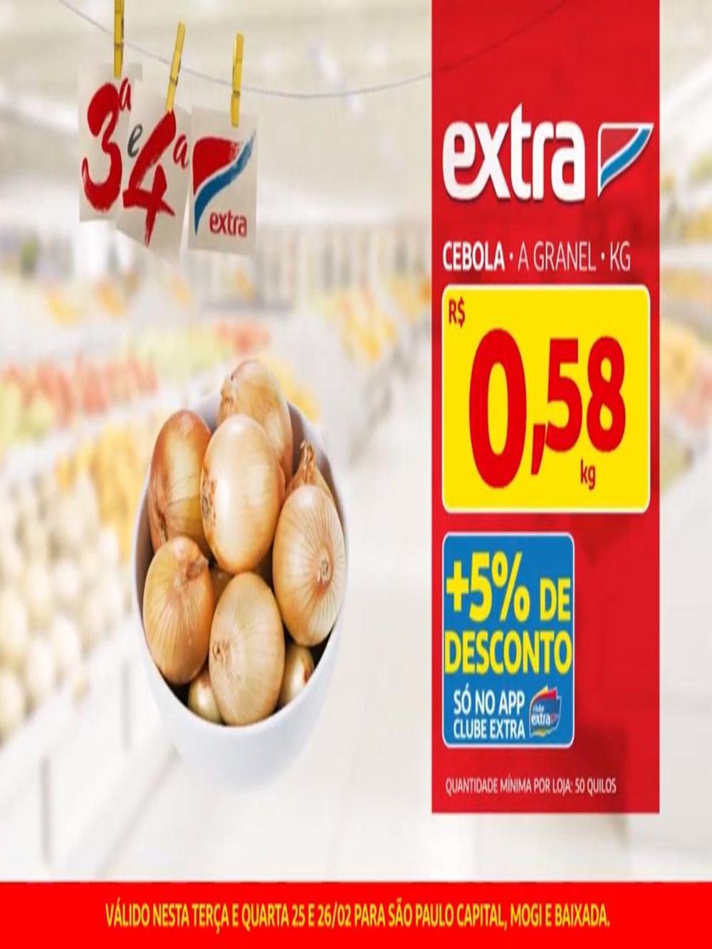 capa Ofertas de supermercados - Hoje