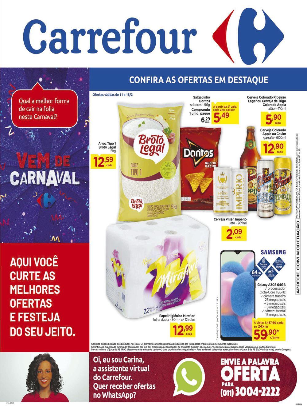 carrefour-Ofertas-tabloide1-1 F de Semana Carrefour até 26/01