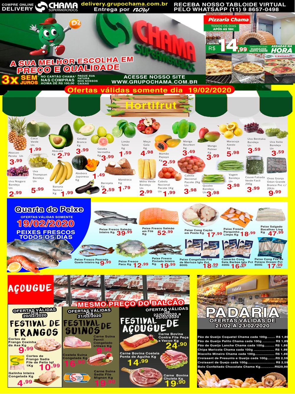 chama-Ofertas-tabloide1-1 Ofertas de supermercados - Hoje