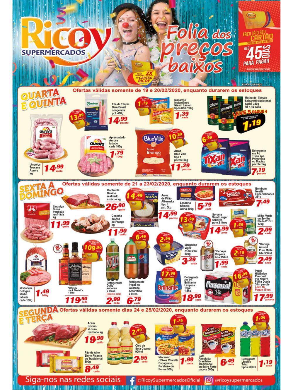ricoy-Ofertas-tabloide1-2 Ofertas de supermercados - Hoje